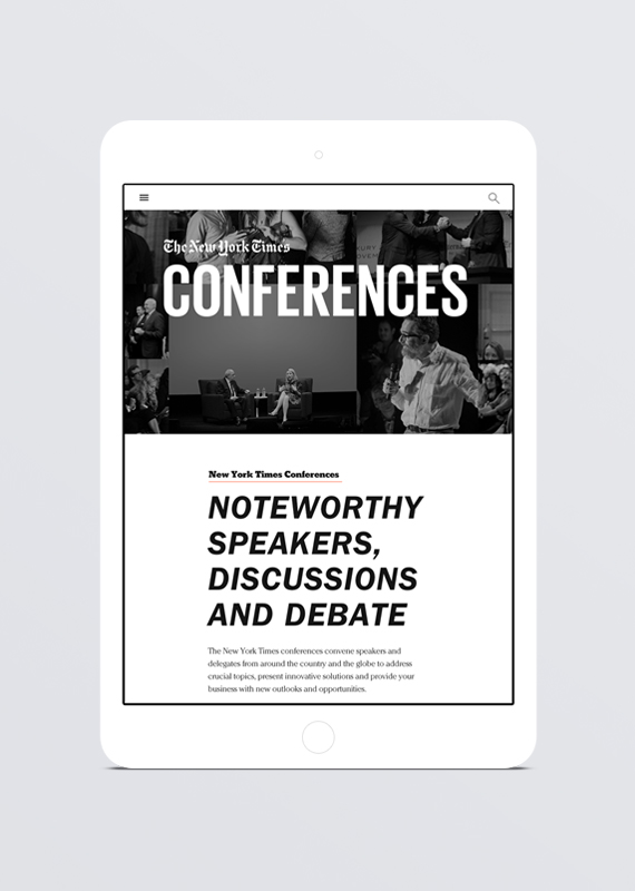 New York Times Conferences